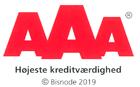 AAA rating gennem mere end 10 år