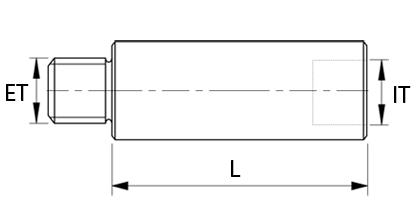 Tekninen piirustus - Jatkokappale